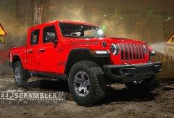El nuevo Jeep Wrangler Scrambler pick-up se estrenará en Los Ángeles