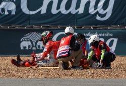 Jorge Lorenzo sufre una durísima caída en Buriram