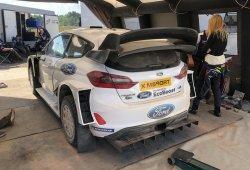 Ken Block completa su test con el Ford Fiesta RS WRC