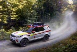 El espectacular Land Rover Discovery de la Cruz Roja austríaca