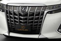 Lexus deja la puerta abierta a un monovolumen basado en el Toyota Alphard