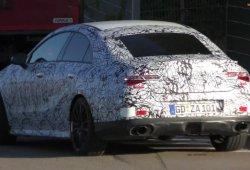 El nuevo Mercedes-AMG CLA 35 se deja ver por primera vez en la calle
