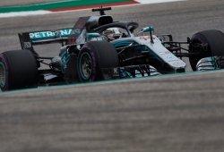 Mercedes cambia la bomba de agua en los monoplazas de Hamilton y Bottas