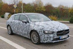 El nuevo Mercedes CLA Shooting Brake con todo detalle durante sus pruebas