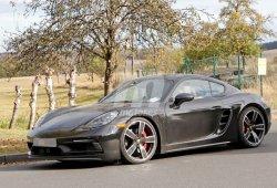 El nuevo Porsche 718 Cayman T aparece por primera vez en Nürburgring