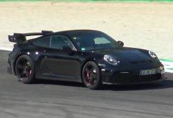 El nuevo Porsche 911 GT3 2020 exprime su motor atmosférico en Monza