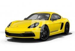 El nuevo Porsche Cayman T será más ligero y potente que el Cayman S