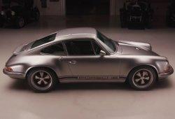 El 100º Singer Porsche 911 presentado en el programa de Jay Leno