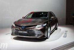 El Toyota Camry Hybrid que llegará a Europa desvelado al fin en París