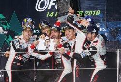 Toyota celebra su magnífico doblete en las 6 Horas de Fuji