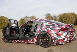 Nuevas fotos espía en Nürburgring desvelan la versión de GT4 del nuevo Toyota Supra GR