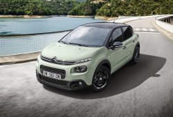 Francia - Septiembre 2018: El Citroën C3 visita el podio