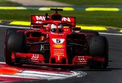 """Vettel: """"Lo hemos intentado todo, no podía hacer más"""""""
