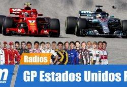 [Vídeo] La radio de los pilotos en el GP de Estados Unidos de F1 2018