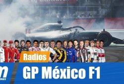[Vídeo] La radio de los pilotos en el GP de México de F1 2018