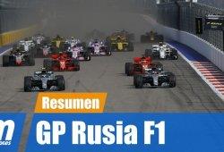 [Vídeo] Resumen del GP de Rusia de F1 2018