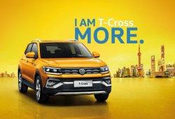 El Volkswagen T-Cross fabricado en China lleva el rostro del Tiguan