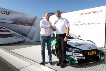 Audi ya tiene equipo cliente en el DTM, el Team WRT