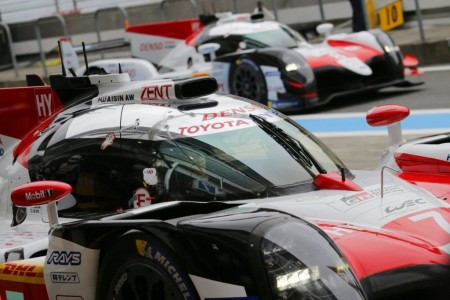 Cara y cruz para Toyota en la clasificación de Fuji