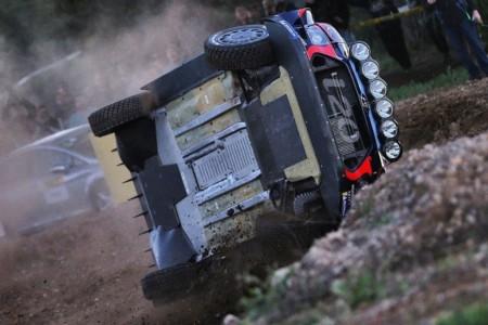 Ogier lidera el shakedown del Rally RACC, Neuville vuelca