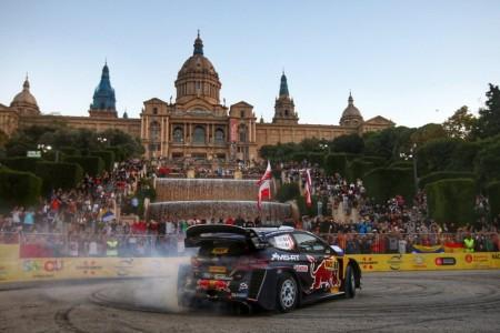 Ogier se exhibe en Montjuïc y duerme líder del Rally RACC