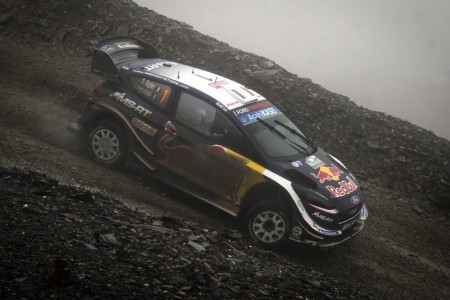 Ogier refuerza su candidatura al título del WRC en Gales