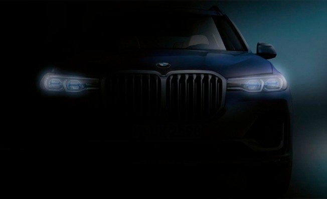 BMW X7 - frontal