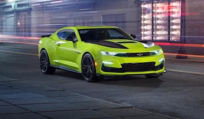 El Nuevo Chevrolet Camaro 2019 Estrena Colores