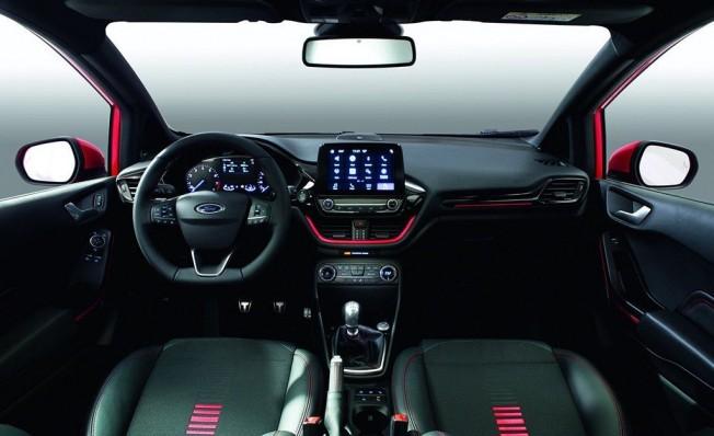 Ford Fiesta ST-Line Black Edition - interior