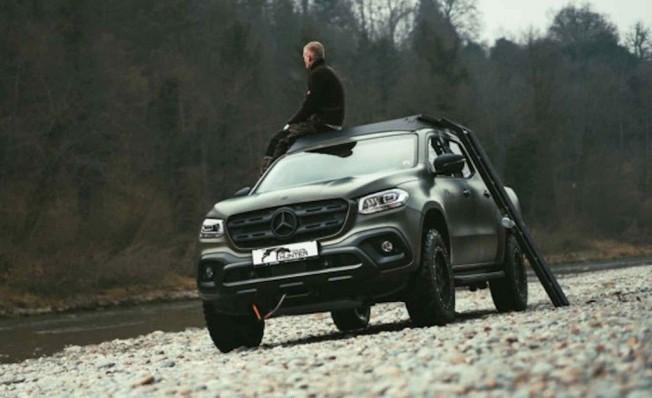 Gruma Mercedes Clase X