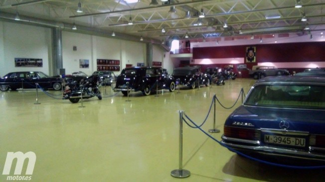 Los coches de la Sala Histórica de la Guardia Real