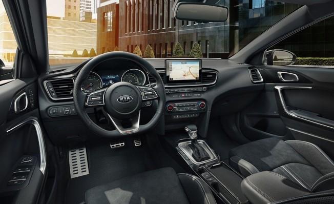 Kia Ceed GT Line - interior