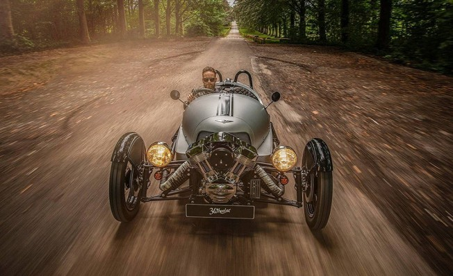Morgan 3 Wheeler 110 Anniversary