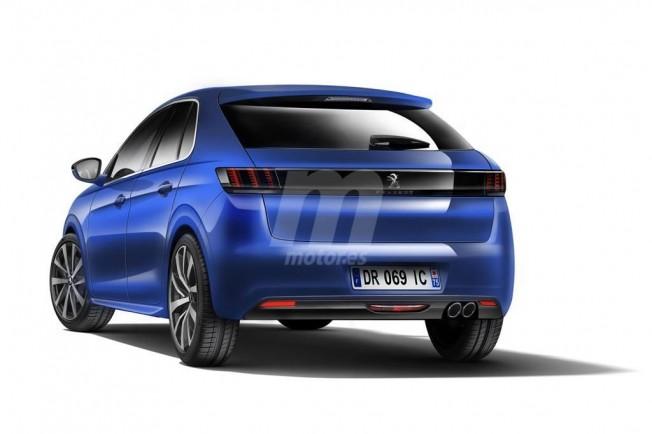 Peugeot 208 2019 - recreación