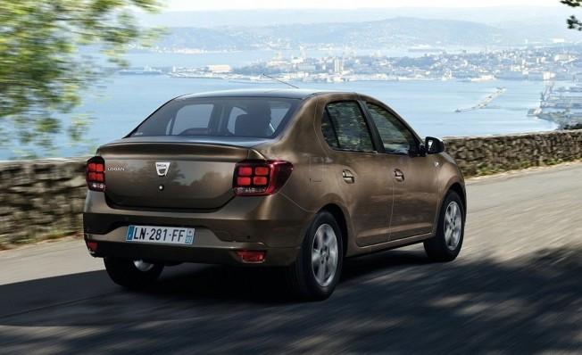 Dacia Logan - posterior