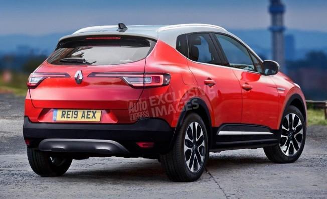 Renault Captur 2020 - recreación