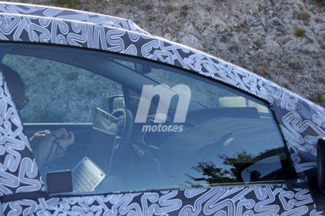 Renault Zoe 2020 - foto espía interior