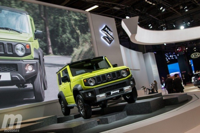 el nuevo suzuki jimny debuta en europa en el sal n de par s 2018. Black Bedroom Furniture Sets. Home Design Ideas