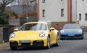 Comparativa visual: el nuevo Porsche 911 generación 992 frente al 991