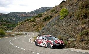 Primeros test previos de cara al Rally RACC de Catalunya
