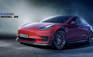 R-Zentric Model R3, ¿estamos ante el Tesla Model 3 más radical?