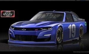 El nuevo Chevrolet Camaro SS de la NASCAR confirma el cambio de frontal