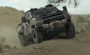 Filtrado el nuevo Chevrolet Silverado ZH2 militar alimentado por hidrógeno