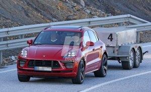 El actualizado Porsche Macan Turbo hace acto de presencia en nuevas fotos espía
