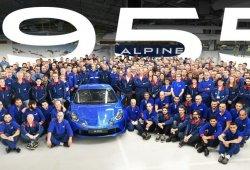 Alpine termina la producción de la edición especial A110 Première Édition