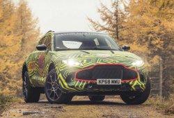 Aston Martin presenta los primeros prototipos del nuevo DBX