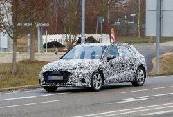 El nuevo Audi A3 Sportback 2020 cazado a plena luz del día