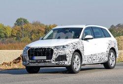 El nuevo Audi Q7 2019 facelift ya monta sus ópticas definitivas
