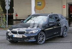 El nuevo BMW Serie 3 Touring (G21) ya rueda casi desnudo
