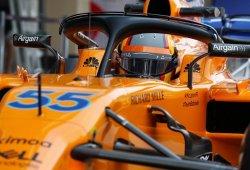 Carlos Sainz completa sus primeros kilómetros con McLaren en Abu Dhabi